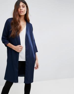 Vero Moda – Veste longue – Multi