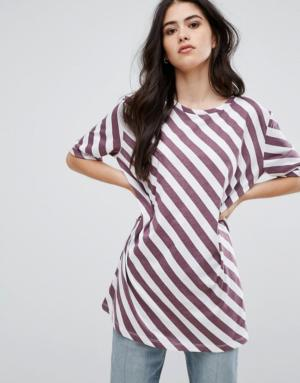 Vila – T-shirt oversize – Noir