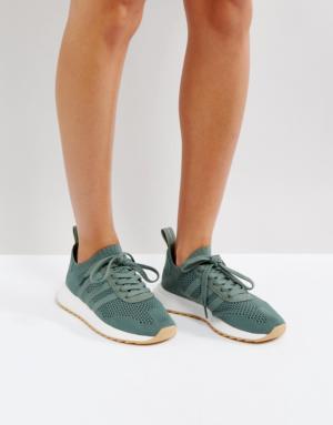 adidas – FLB – Baskets – Vert