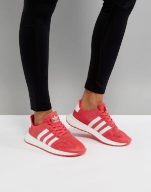 adidas Originals – Flashback – Baskets de course – Rose