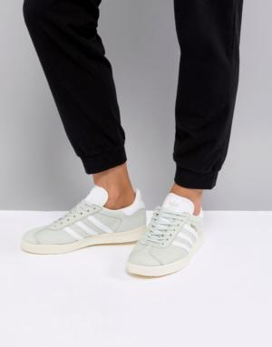 adidas Originals – Gazelle – Baskets – Vert