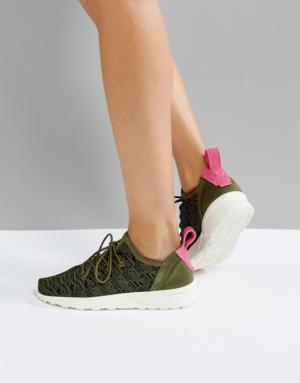 adidas – ZX Flux Virtue – Baskets – Vert