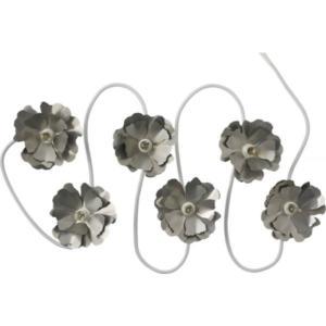 Helena Guirlande lumineuse en métal argenté – Habitat