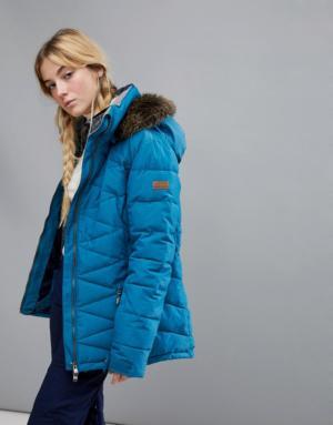 Roxy – Quinn – Veste – Bleu – Bleu