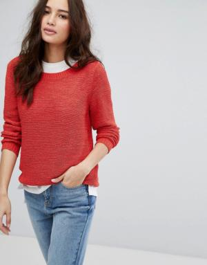 Only – Pull en maille – Rouge