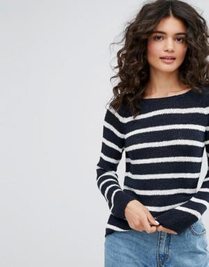 Only – Pull en maille à rayures – Multi
