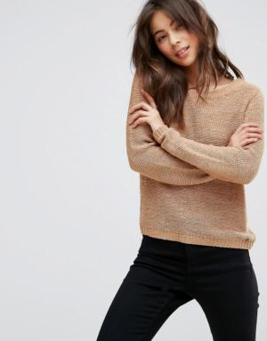 Only – Pull en maille – Marron