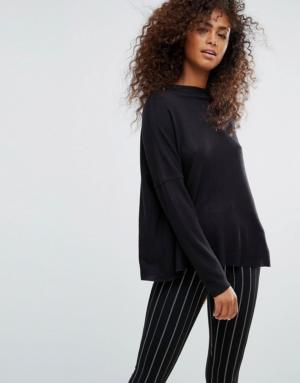 Only – Pull manches longues – Noir