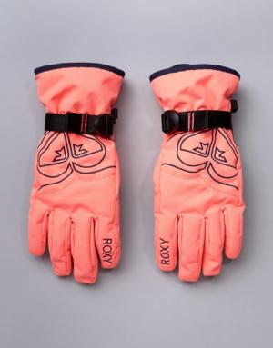 Roxy – Poppy – Gants de ski – Rose – Rose