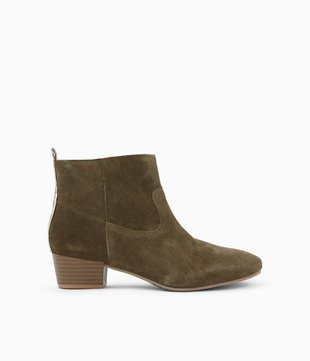 Boots en suédine Femme Promod