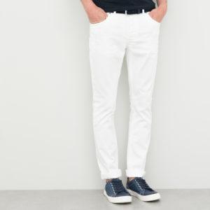 Pantalon 5 poches homme blanc Devred 1902