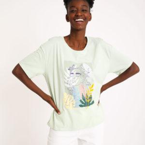T-shirt imprimé Pimkie