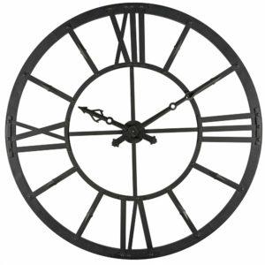 Horloge lumineuse en métal noir D.121cm Maisons du Monde