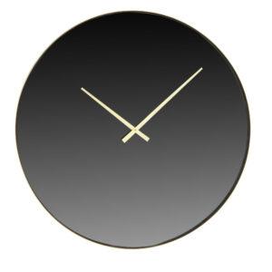Horloge miroir fumé en métal doré D71 Maisons du Monde