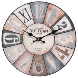 Horloge multicolore D34 Maisons du Monde