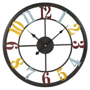 Horloge mutlicolore en métal D45 Maisons du Monde