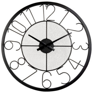 Horloge noire D60 Maisons du Monde