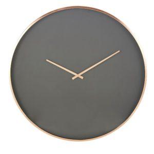 Horloge noire en métal cuivré D76 Maisons du Monde