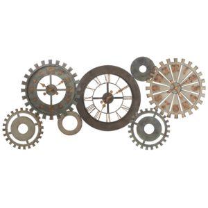 Horloges rouages en métal patiné L164 Maisons du Monde