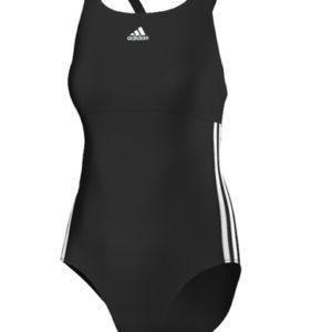 Maillot de bain  3-stripes authentic Noir Adidas