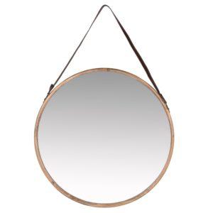 Miroir avec anse marron D58 Maisons du Monde