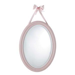 Miroir ovale rose 40x55 Maisons du Monde