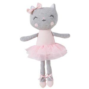 Peluche chat ballerine en coton Maisons du Monde