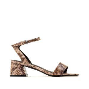 Sandales à talon Liza Marron Serpent Vero Moda