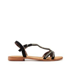 Sandales cuir Doti Noir Vero Moda