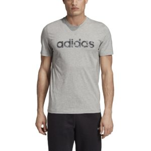 T-shirt Linear Camo Gris - Gris Chiné adidas performance