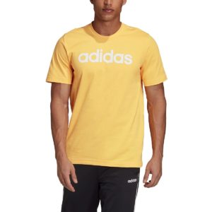 T-shirt logo Linear Jaune adidas performance