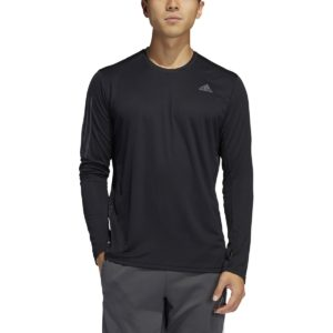 T-shirt running manches longues Own The Run Noir adidas performance