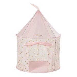 Tente de jeux château rose pastel Maisons du Monde