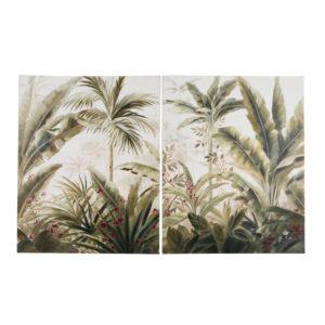 Toiles imprimé paysage tropical 160x100 (x2) Maisons du Monde