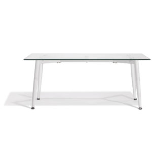 Table basse gaby blanche Gifi