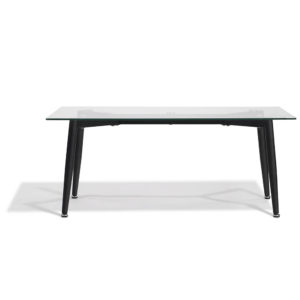 Table basse gaby noire Gifi
