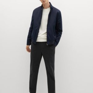 Veste coton imperméable Nouvelle collection MANGO MAN