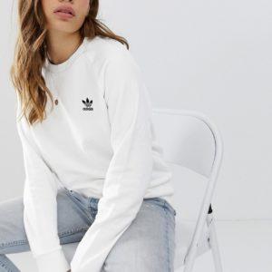 adidas Originals - Essential - Sweat-shirt ras de cou - Blanc Asos