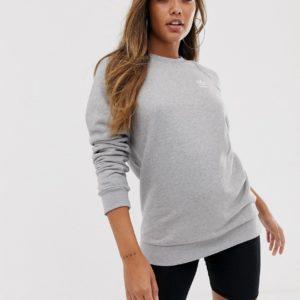adidas Originals - Essential - Sweat-shirt ras de cou - Gris Asos