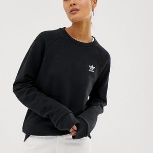 adidas Originals - Essential - Sweat-shirt ras de cou - Noir Asos