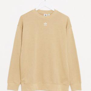 adidas Originals - Essentials - Sweat-shirt - Beige-Gris Asos