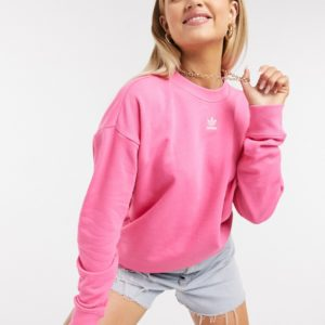 adidas Originals - Essentials- Sweat-shirt - Rose Asos